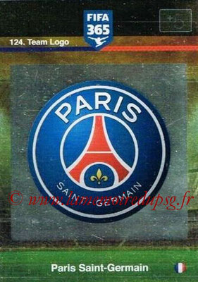 N° 124 - Ecusson Paris Saint-Germain (Team Logo)