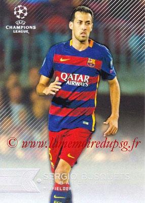 2015-16 - Topps UEFA Champions League Showcase Soccer - N° 109 - Sergio BUSQUETS (FC Barcelone)