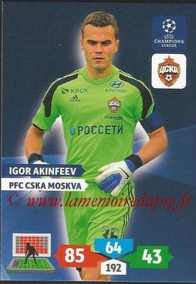 2013-14 - Adrenalyn XL champions League N° 127 - Igor Akinfeev (PFC CSKA Moscou)