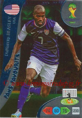2014 - Panini FIFA World Cup Brazil Adrenalyn XL - N° 351 - DaMarcus BEASLEY (Etats-Unis) (Fan's favorite)