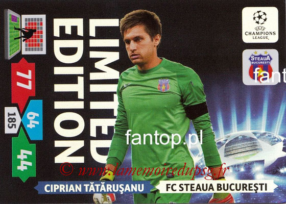 2013-14 - Adrenalyn XL champions League N° LE50 - Ciprian TATARUSANU (FC Steaua Bucarest) (Limited Edition)