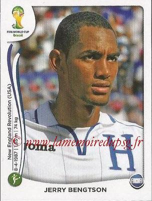 2014 - Panini FIFA World Cup Brazil Stickers - N° 410 - Jerry BENGTSON (Honduras)