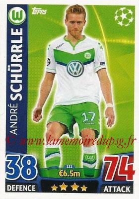 2015-16 - Topps UEFA Champions League Match Attax - N° 121 - André SCHÜRRLE (VFL Wolfsburg)