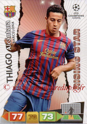 2011-12 - Panini Champions League Cards - N° 032 - Thiago ALCANTARA (FC Barcelone) (Rising Star)