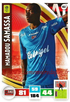2016-17 - Panini Adrenalyn XL Ligue 1 - N° 102 - Mamadou SAMASSA (Guingamp)