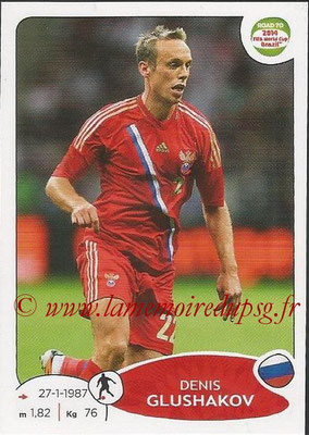 2014 - Panini Road to FIFA World Cup Brazil Stickers - N° 336 - Denis GLUSHAKOV (Russie)