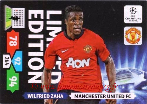 2013-14 - Adrenalyn XL champions League N° LE37 - Wilfried ZAHA (Manchester United FC) (Limited Edition)