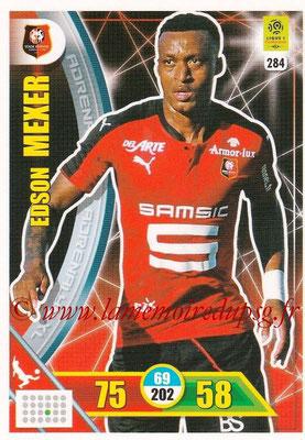 2017-18 - Panini Adrenalyn XL Ligue 1 - N° 284 - Edson MEXER (Rennes)