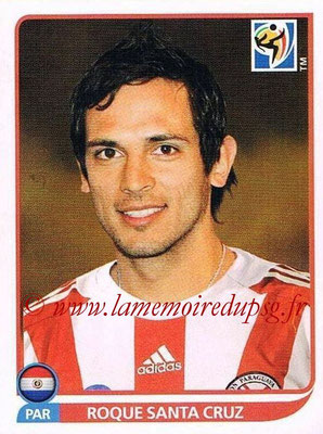 2010 - Panini FIFA World Cup South Africa Stickers - N° 444 - Roque SANTA CRUZ (Paraguay)