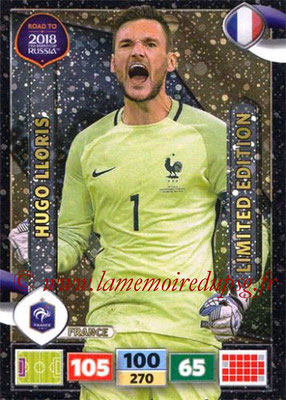 2018 - Panini Road to FIFA World Cup Russia Adrenalyn XL - N° LE-HL - Hugo LLORIS (France) (Limited Edition)