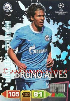 2011-12 - Panini Champions League Cards - N° LE42 - Bruno ALVES (FC Zenit) (Limited Edition)