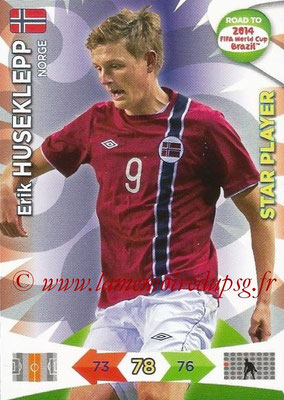 2014 - Panini Road to FIFA World Cup Brazil Adrenalyn XL - N° 145 - Erik HUSEKLEPP (Norvège) (Star Player)