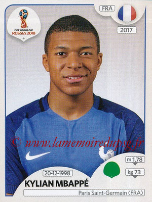 2018 - Panini FIFA World Cup Russia Stickers - N° 209 - Kylian MBAPPE (France)