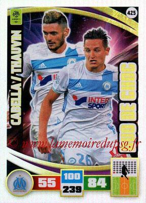 2016-17 - Panini Adrenalyn XL Ligue 1 - N° 425 - Rémy CABELLA + Florian THAUVIN (Marseille) (Duo de Choc)