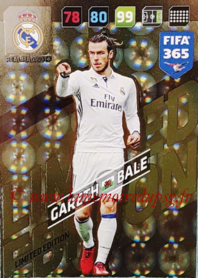 2017-18 - Panini FIFA 365 Cards - N° LE-GB - Gareth BALE (Real Madric CF) (Limited Edition)