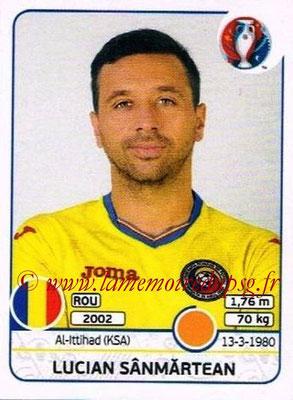 Panini Euro 2016 Stickers - N° 059 - Lucian SANMARTEAN (Roumanie)