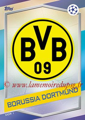 2016-17 - Topps UEFA Champions League Match Attax - N° DOR1 - Logo Borussia Dortmund