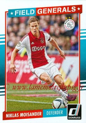 2015 - Panini Donruss Soccer - N° FG10 - Niklas MOISANDER (AFC Ajax) (Field Generals)