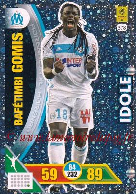 2017-18 - Panini Adrenalyn XL Ligue 1 - N° 378 - Bafétimbi GOMIS (Marseille) (Idole)