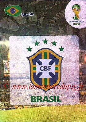 2014 - Panini FIFA World Cup Brazil Adrenalyn XL - N° 046 - Logo Brésil