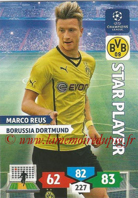 2013-14 - Adrenalyn XL champions League N° 107 - Marco REUS (Borussia Dortmund) (Star Player)