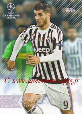2015-16 - Topps UEFA Champions League Showcase Soccer - N° 086 - Álvaro MORATA (Juventus FC)
