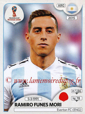 2018 - Panini FIFA World Cup Russia Stickers - N° 280 - Ramiro FUNES MORI (Argentine)