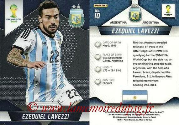 N° 010 - Ezequiel LAVEZZI (2012-??, PSG > 2014, Argentine)