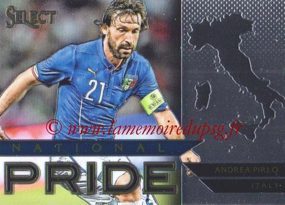 2015 - Panini Select Soccer - N° NP23 - Andrea PIRLO (Italie) (National Pride)