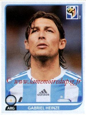 N° 110 - Gabriel HEINZE (2001-04, PSG > 2010, Argentine)