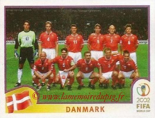 2002 - Panini FIFA World Cup Stickers - N° 079 - Equipe Danemark