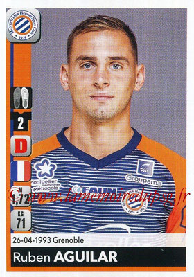 2018-19 - Panini Ligue 1 Stickers - N° 253 - Ruben AGUILAR (Montpellier)