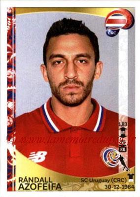 Panini Copa America Centenario USA 2016 Stickers - N° 078 - Randall AZOFEIFA (Costa Rica)