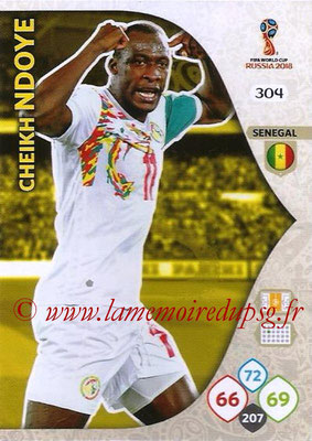 2018 - Panini FIFA World Cup Russia Adrenalyn XL - N° 304 - Cheikh NDOYE (Senegal)