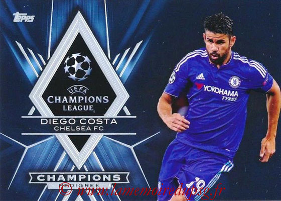 2015-16 - Topps UEFA Champions League Showcase Soccer - N° CP-DC - Diego COSTA (Chelsea FC) (Champions Pedigree)