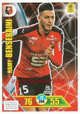 2017-18 - Panini Adrenalyn XL Ligue 1 - N° 283 - Ramy BENSEBAINI (Rennes)
