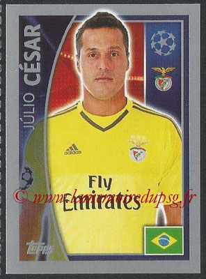 2015-16 - Topps UEFA Champions League Stickers - N° 162 - Julio CESAR (SL Benfica)