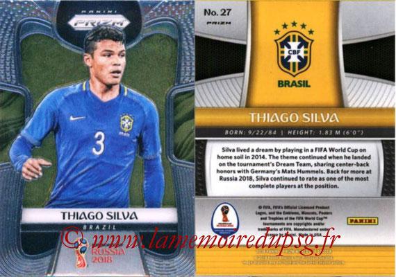 N° 027 - Thiago SILVA (2012-??, PSG > 2018, Brésil)