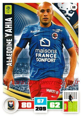2016-17 - Panini Adrenalyn XL Ligue 1 - N° 068 - Alaeddine YAHIA (Caen)