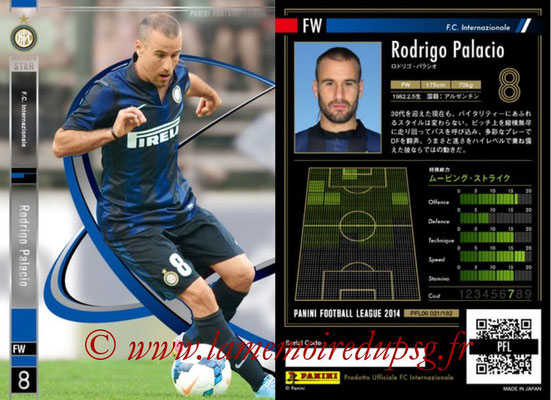 Panini Football League 2014 - PFL06 - N° 021 - Rodrigo PALACIO (FC Internazionale) (Star)