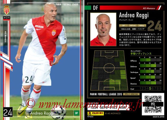 Panini Football League 2015 - PFL11 - N° 055 - Andrea RAGGI (AS Monaco)