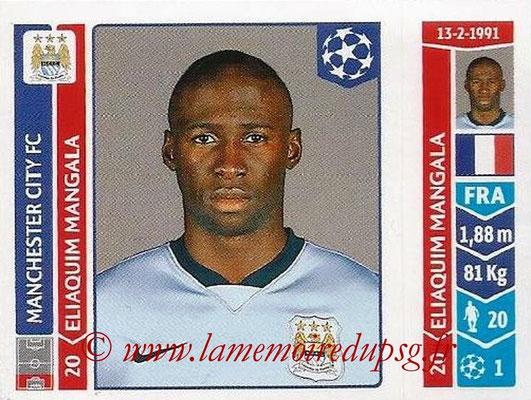 2014-15 - Panini Champions League N° 375 - Eliaquim MANGAL (Manchester City FC)