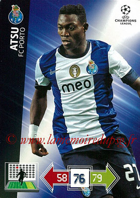 2012-13 - Adrenalyn XL champions League N° 204 - ATSU (FC Porto)
