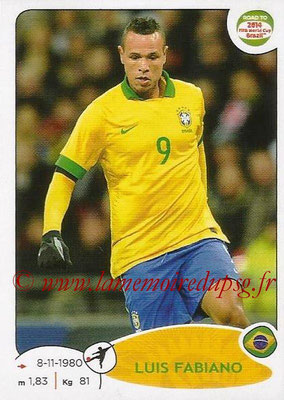 2014 - Panini Road to FIFA World Cup Brazil Stickers - N° 017 - Luis FABIANO (Brésil)