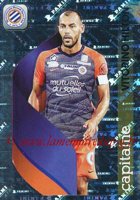 2018-19 - Panini Ligue 1 Stickers - N° 272 - Vitorino HILTON (Montpellier) (Capitaine)