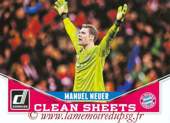 2015 - Panini Donruss Soccer - N° CS08 - Manuel NEUER (FC Bayern Munich) (Clean Sheets)