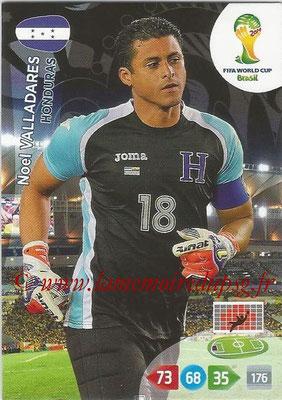 2014 - Panini FIFA World Cup Brazil Adrenalyn XL - N° 188 - Noel VALLADARES (Honduras)