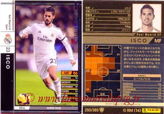 2013-14 - WCCF - N° 250 - ISCO (Real Madrid CF)