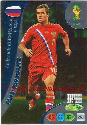 2014 - Panini FIFA World Cup Brazil Adrenalyn XL - N° 348 - Aleksandr KERZHAKOV (Russie) (Fan's favorite)