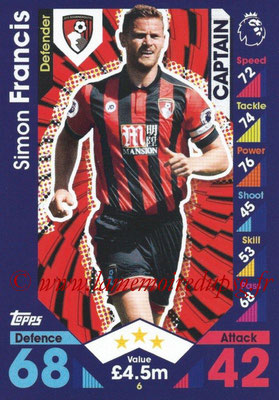 2016-17 - Topps Match Attax Premier League - N° 006